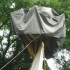 Tipi Rain Catcher